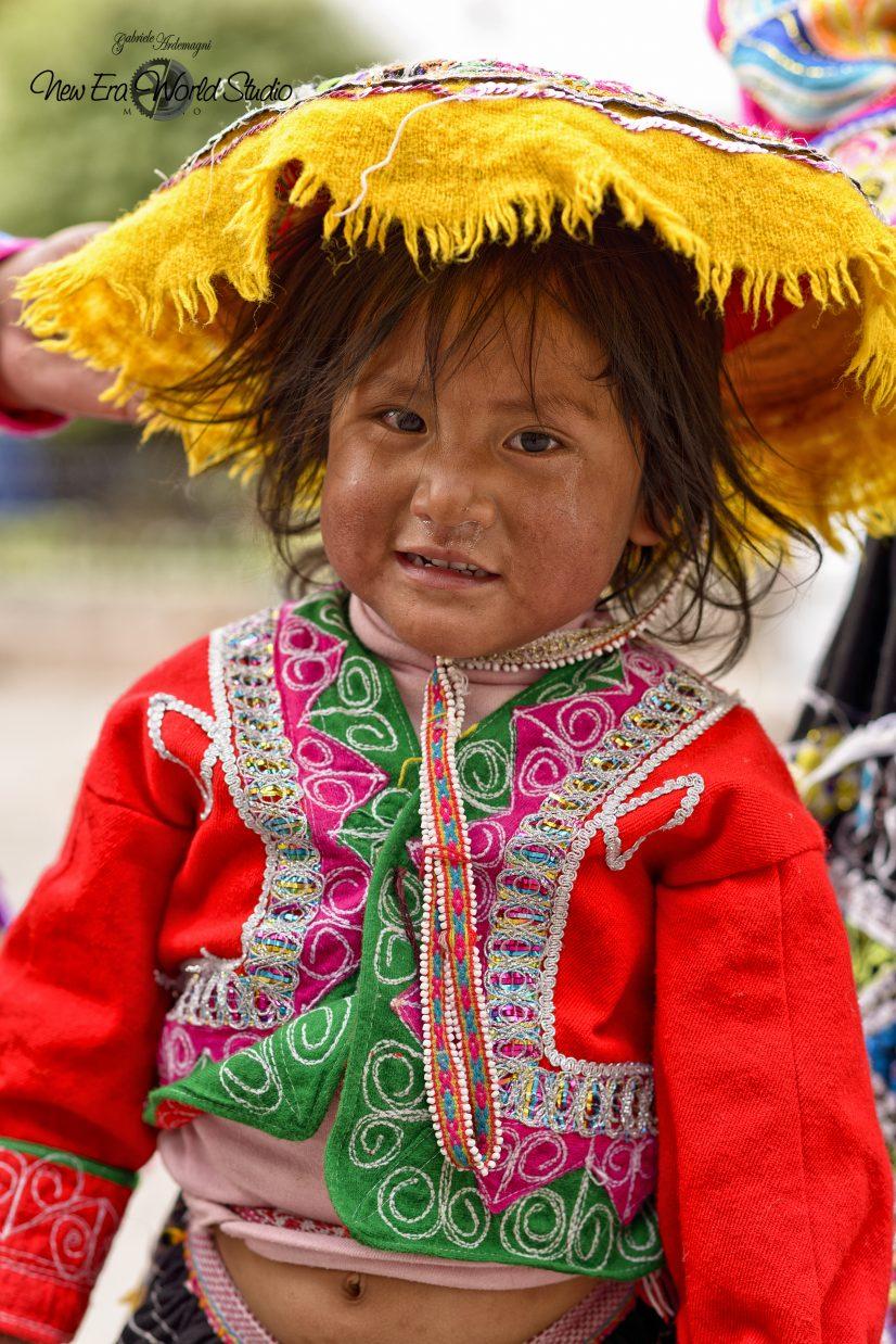 Nina in Cuzco Perù Foto by Gabriele Ardemagni