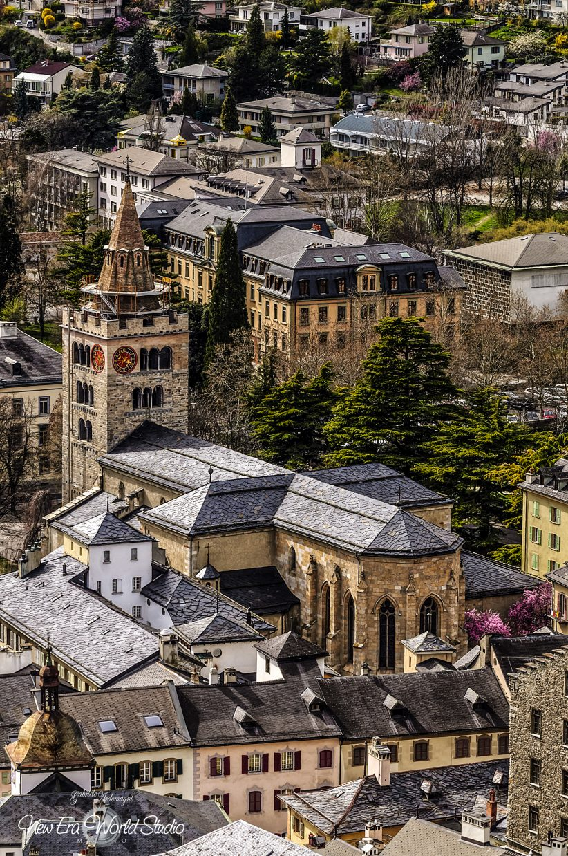 Sion Swiss Notre Dame du Glarier Cathedral Foto by Gabriele Ardemagni