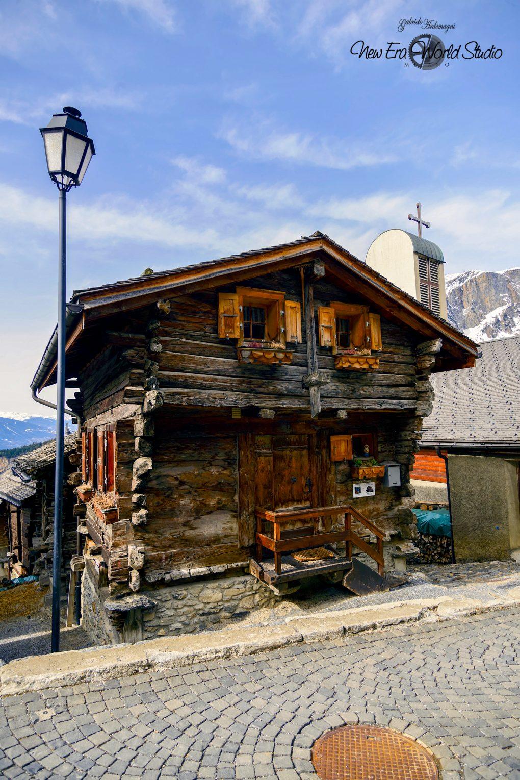 Albinen Swiss Walser House Foto by Gabriele Ardemagni
