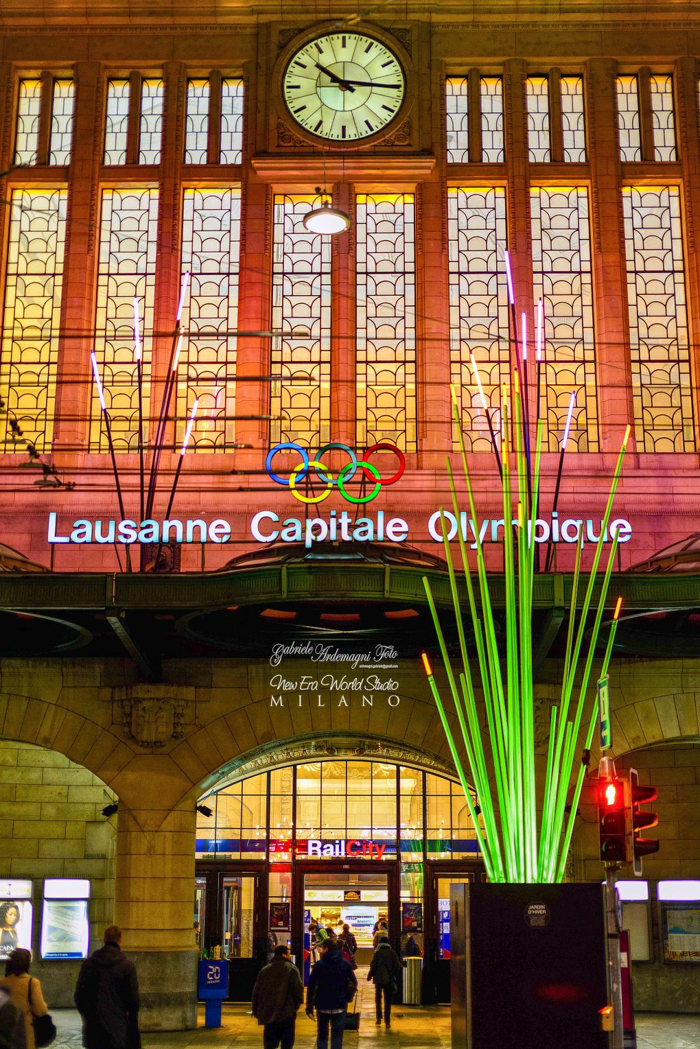 Lausanne Swiss Station Foto by Gabriele Ardemagni