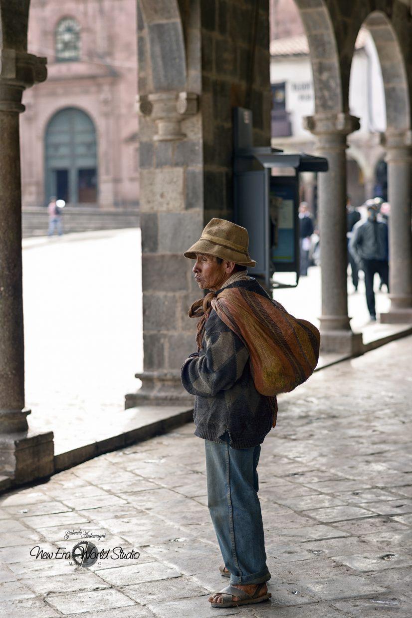 Campesinos in Cuzco Foto by Gabriele Ardemagni