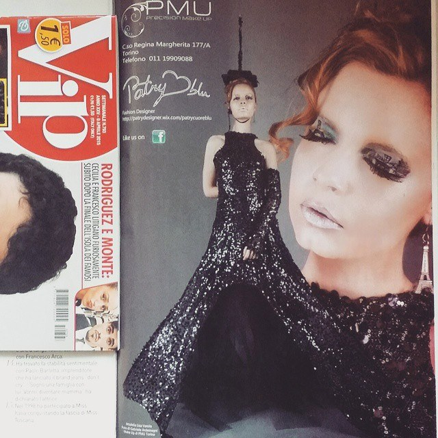 Advertising for Patry CuoreBlu e PMU out on Vip 2015 Foto by Gabriele Ardemagni