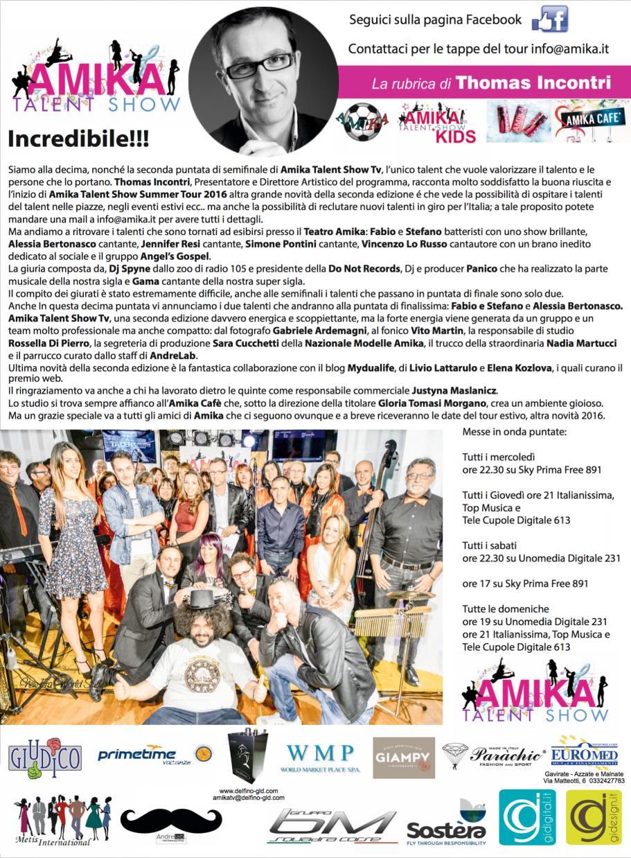 Vip 2016 Amika Talent Show 10 Foto by Gabriele Ardemagni