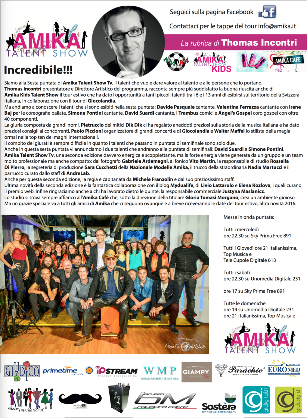 Vip 2016 Amika Talent Show 6 Foto by Gabriele Ardemagni