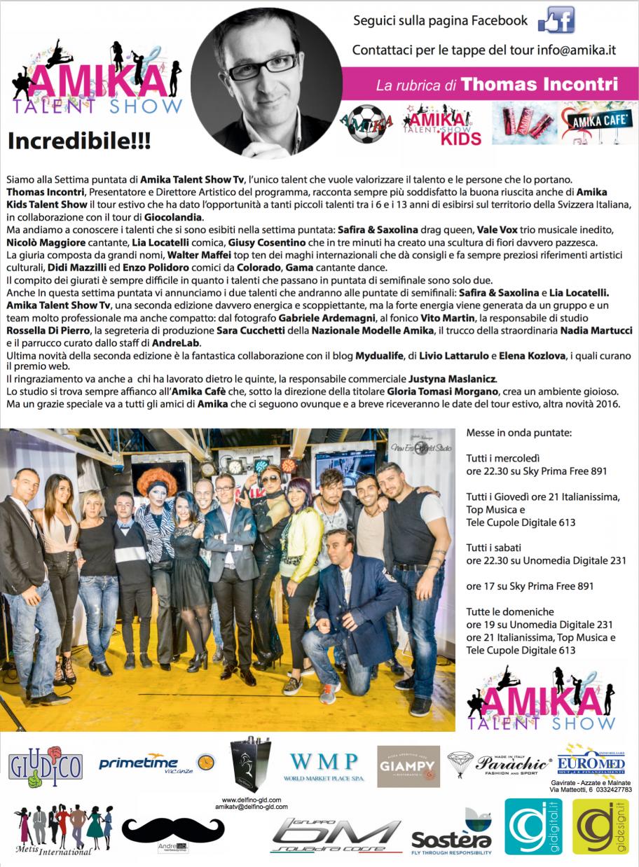Vip 2016 Amika Talent Show 7 Foto by Gabriele Ardemagni