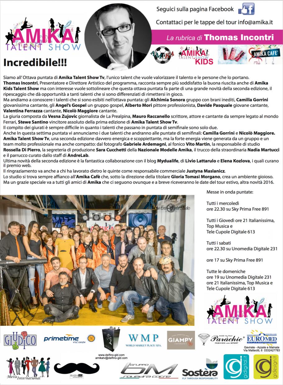 Vip 2016 Amika Talent Show 8 Foto by Gabriele Ardemagni