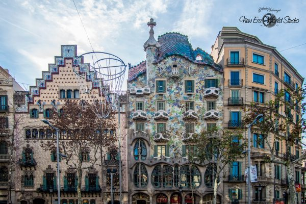 Gaudi Casa Battlo Barcelona Spain 1 Foto by Gabriele Ardemagni