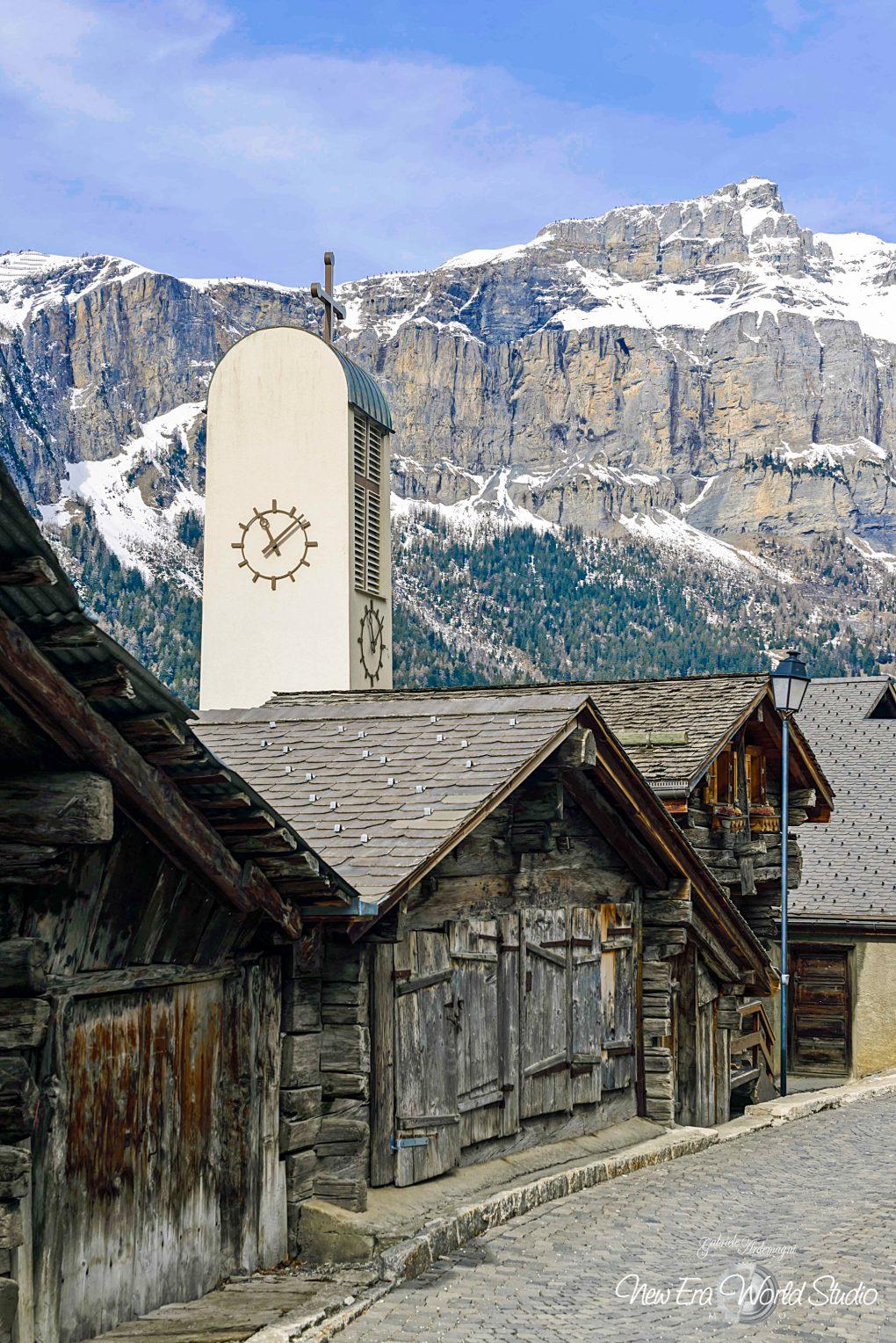 Albinen Swiss Church Foto by Gabriele Ardemagni
