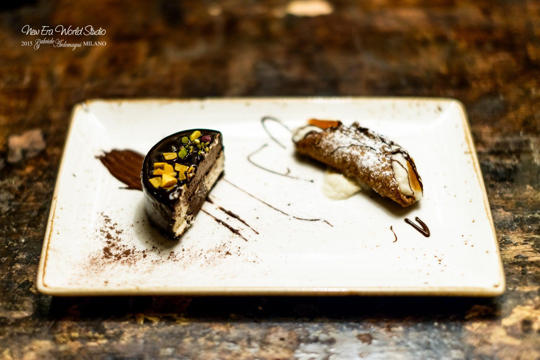 cannolo-di-ricotta-e-canditi-con-sette-veli-al-cioccolato-piatto-1