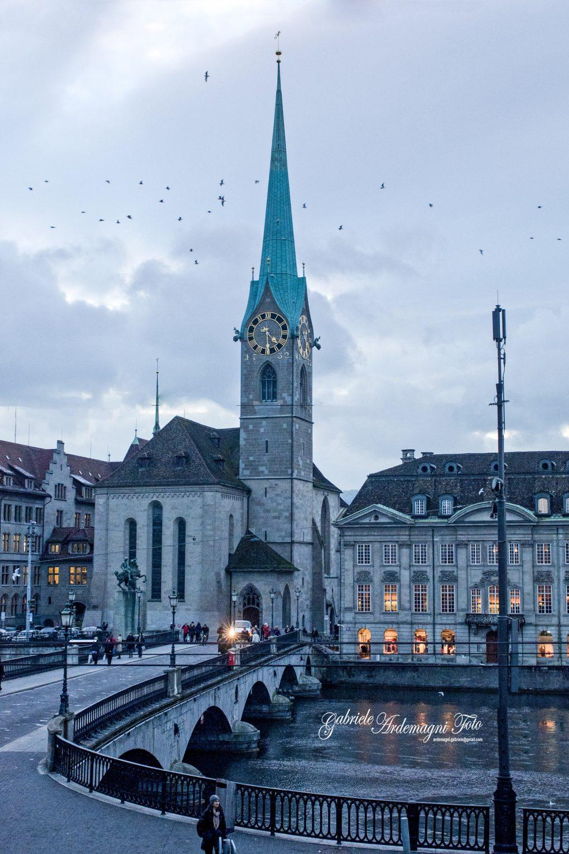 Zurich Swiss Fraumunster Swiss Foto by Gabriele Ardemagni