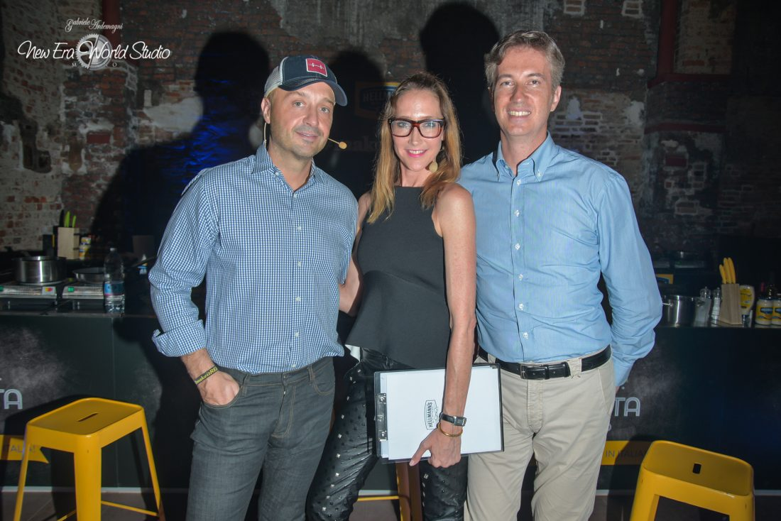 Joe Bastianich e Kris Grove for Hellmanns Foto by Gabriele Ardemagni