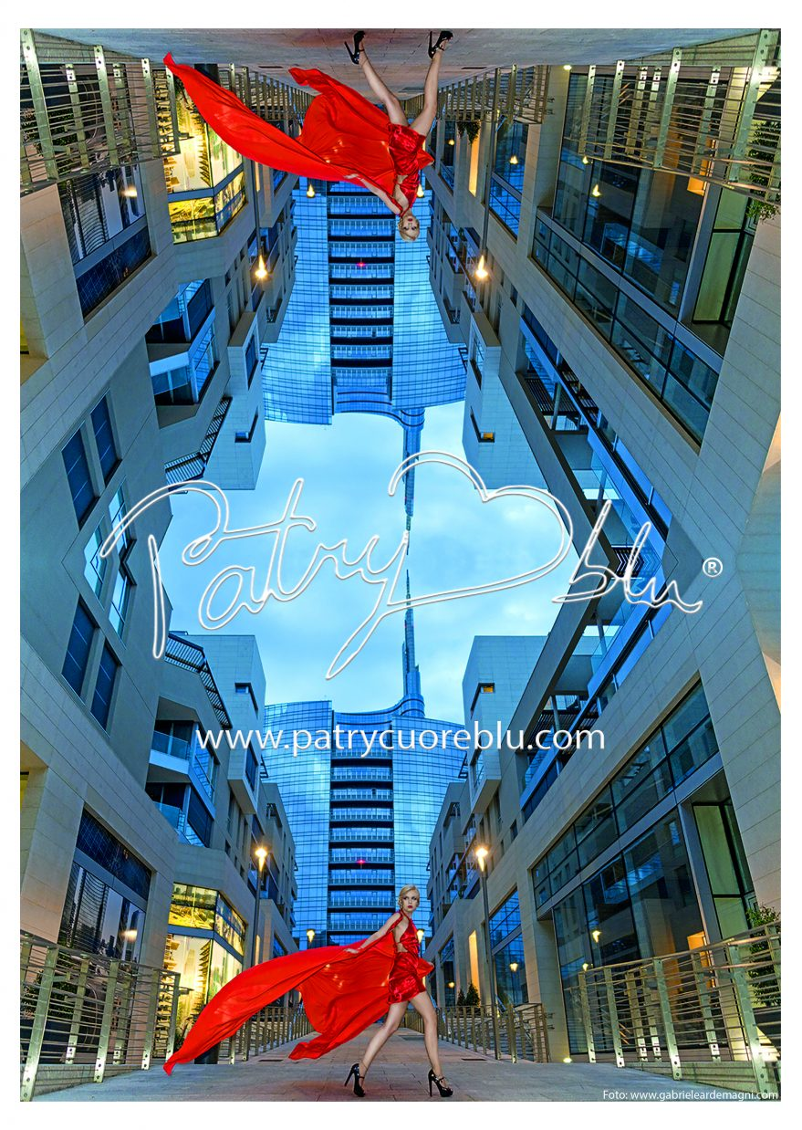 Advertising per PatryCuoreBlu sul mensile Bella Luglio 2016 in edicola da Mercoledi 22 Giugno Abito Patry Cuoreblu Modella Lisa Varolo Mua Daniela Bara Giugno 2013 Milano