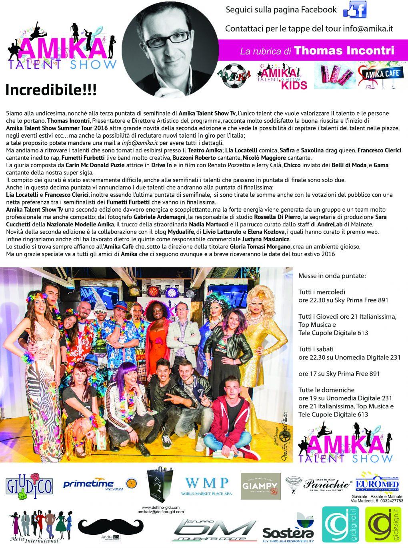 Vip Amika Talent Show 11 Foto by Gabriele Ardemagni