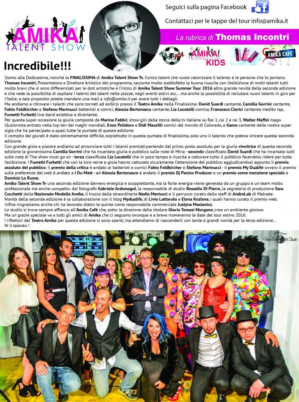 Vip Amika Talent Show 12 Foto by Gabriele Ardemagni