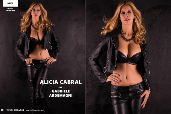 Visual Magazine 19 Aug 2016 model Alicia Cabral https://www.vizualmagazine.com/issue.php?vol=19