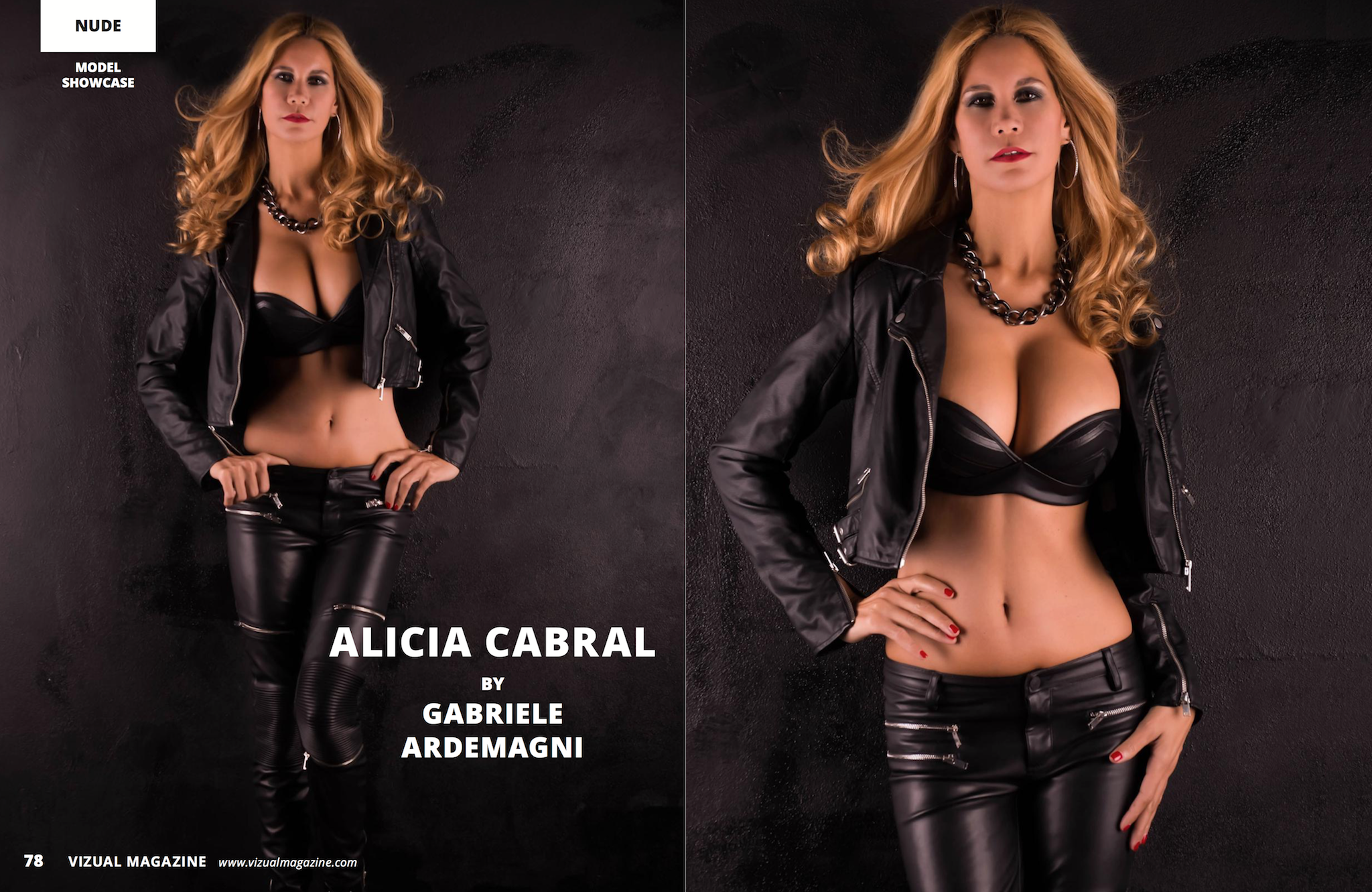 Visual Magazine 19 Aug 2016 model Alicia Cabral https://www.vizualmagazine.com/issue.php?vol=19