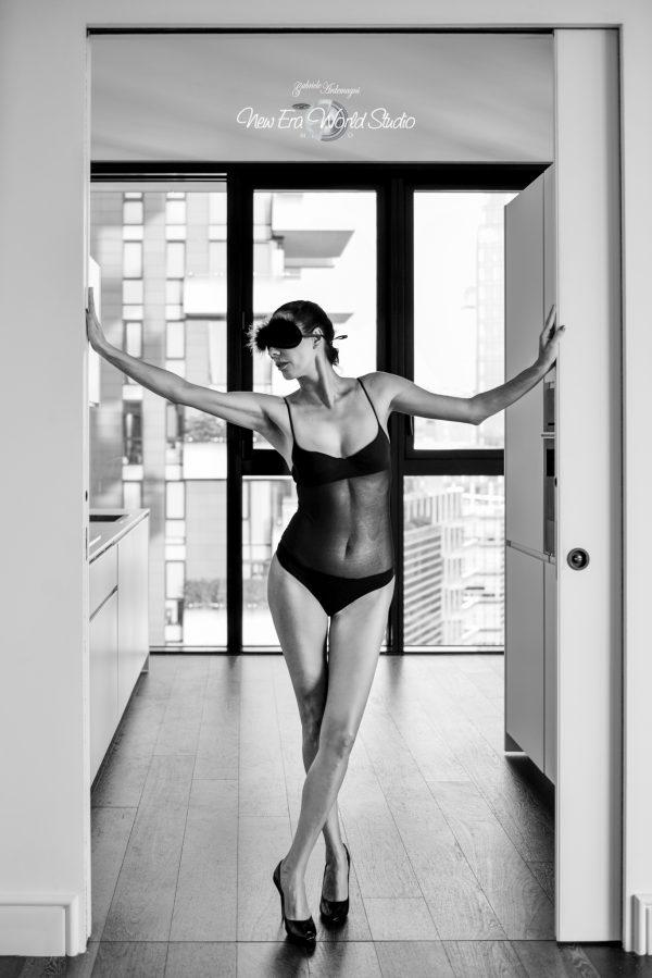 Justina Maslanicz B&W Dark Glamour 1 Foto by Gabriele Ardemagni www.gabrieleardemagni.com