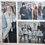 Il Giorno 18/10/2016 Fashion Charity Event at Kilo Fashion Via Dante Milano with players of Basketartisti