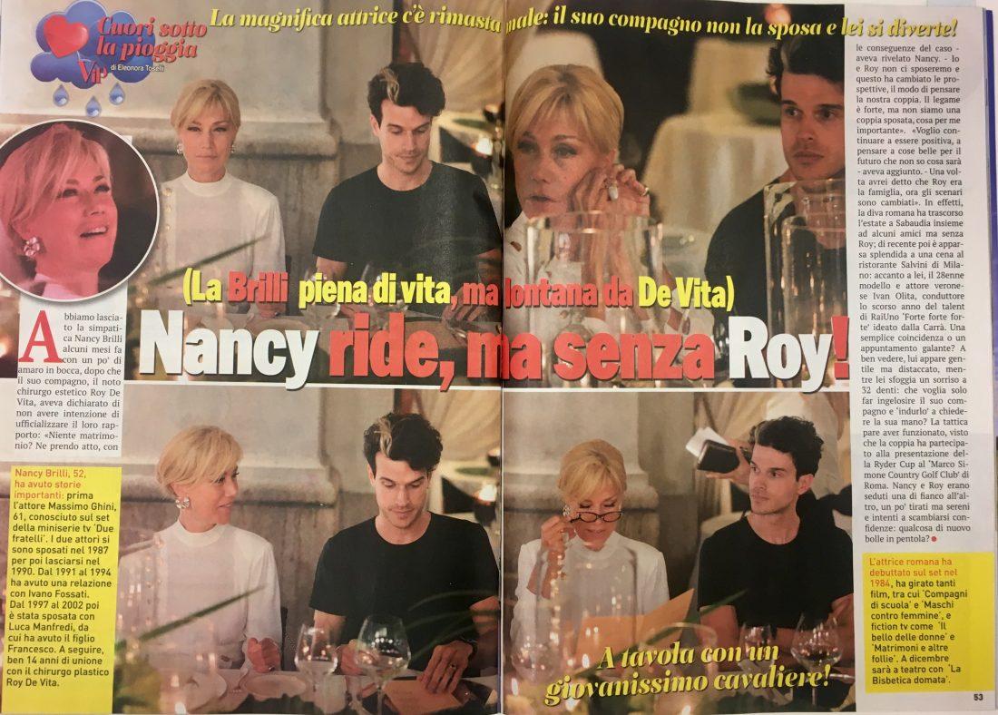 Vip #870 30 Sept 2016 Nancy Brilli