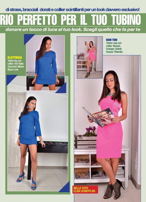 Settimanale Tutto #43 8 Dicembre 2016 - Moda é: Modella Elisa Scheffler Fashion Editor Dorian Ruvolo Foto  www.gabrieleardemagni.com