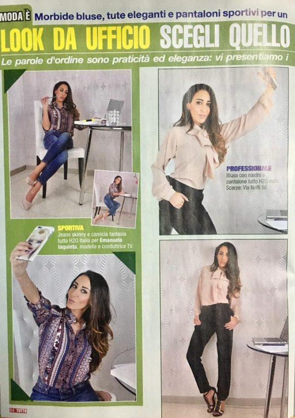 Settimanale Tutto #44 15 Dicembre 2016 – Moda é: Modella Emanuela Iaquinta Fashion Editor Dorian Ruvolo Foto  www.gabrieleardemagni.com