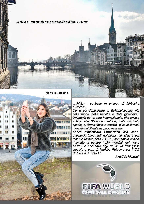 Miraflores Press Gennaio 2017 servizio su Zurigo Svizzera Autore Aristide Mummy Malnati foto Gabriele Neweraworldstudio Ardemagni riprese Giorgio Melis Inviata e modella Mariella Petagine si ringrazia Ente Turismo Elvetico Pagina 3 di 4
