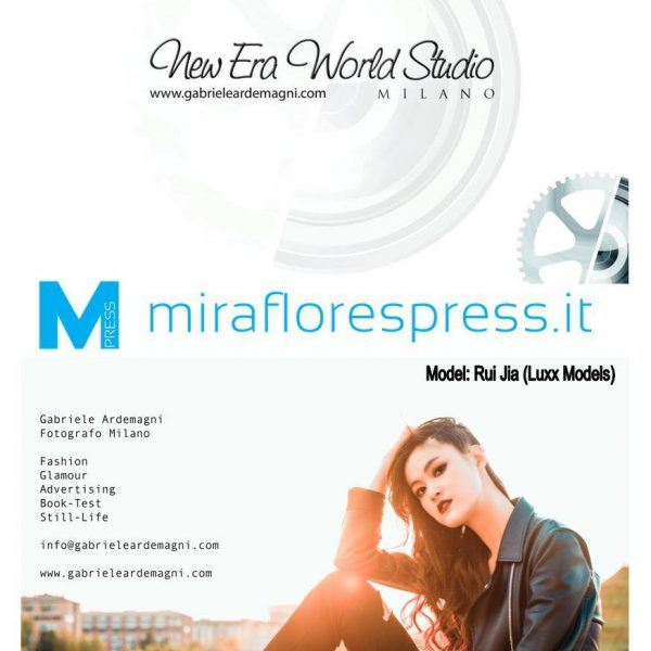 Miraflores Press Gennaio 2017 Modella: Rui Jia Agenzia Luxx Models Milano Mua Bianca Bagnoli HS Lisa Ruiu