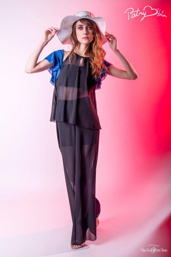 Patry CuoreBlu 2017 Capsule Collection www.patrycuoreblu.com  Photo: Gabriele Ardemagni www.gabrieleardemagni.com  Models: Stacey Farnet from www.luxxmanagement.it  MakeUp Artist: Irene Otekpere  Hair Stylist: Lisa Elba Lisa@rocknrollhair