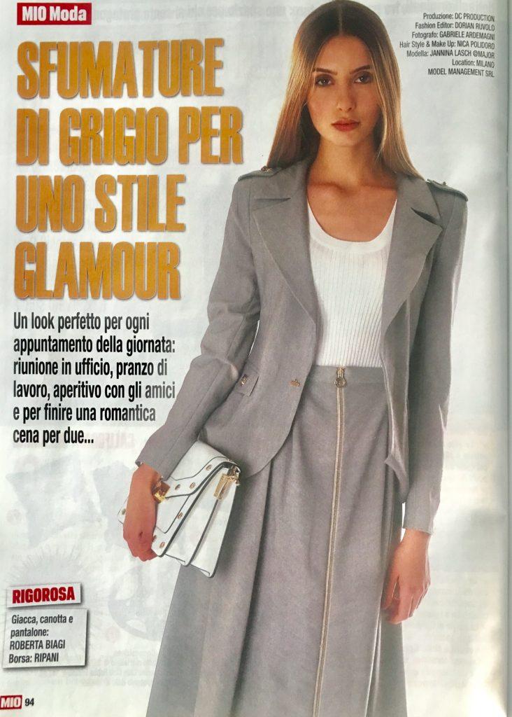 Mio #4 26 Gennaio 2017 Foto: www.gabrieleardemagni.com Modella: Jannina Lasch - Major Milano Fashion Editor: Dorian Ruvolo MUA & HS: Nica Polidoro Location: Milano Model Management Srl Produzione: DC Production