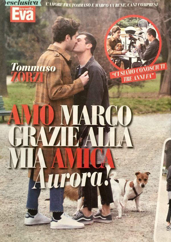 Eva tremila express #13 22 Marzo 2017 Tommaso Zorzi e Marco Ferrero ( iconize ) foto www.gabrieleardemagni.com in esclusiva per Eva tremila express