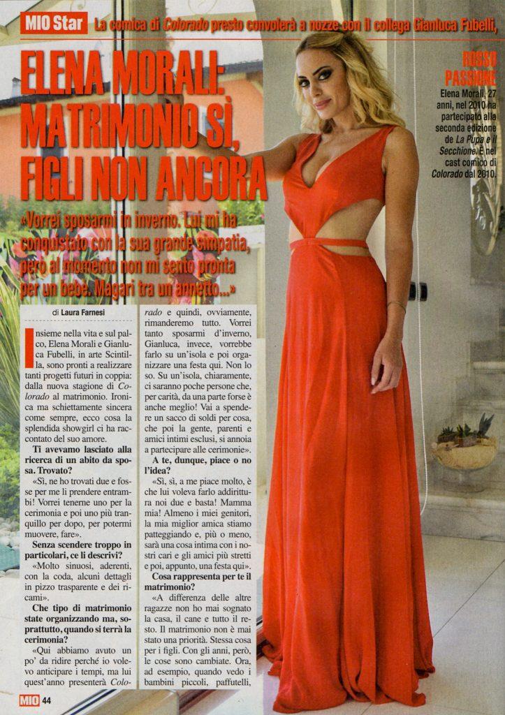 """Mio #34 31 Agosto 2017 - La bellissima Elena Morali racconta i suoi progetti con Gianluca """"Scintilla"""" Fubelli. Photo www.gabrieleardemagni.com MUA Anna Olivari"""