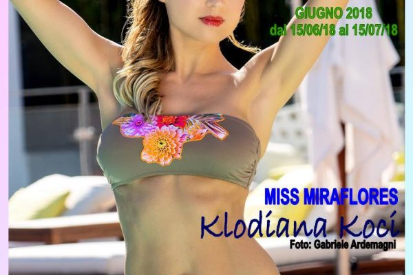 Miraflores Press 106 Giugno 2018 Klodiana Cover