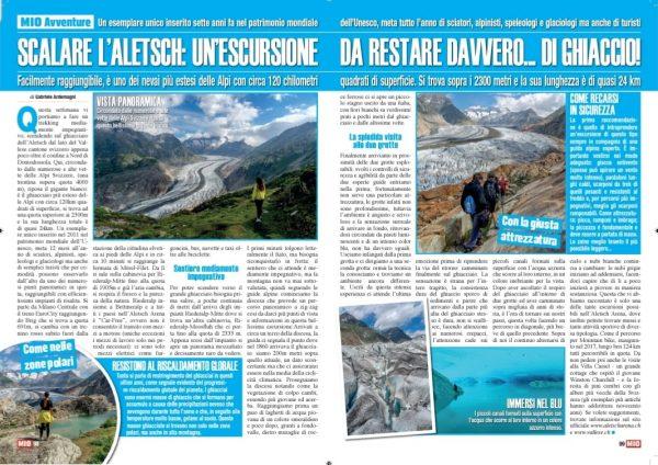 Mio Aletsch Vallese Svizzera Gabriele Ardemagni
