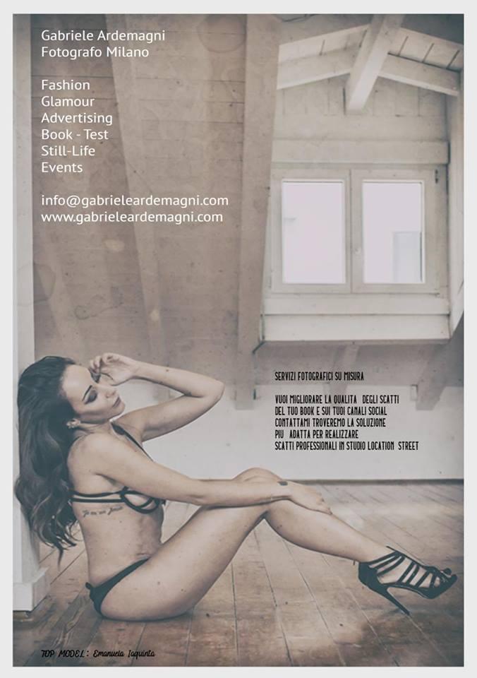 Miraflores Press 107 settembre 2018 Emanuela Iaquinta by Gabriele Ardemagni