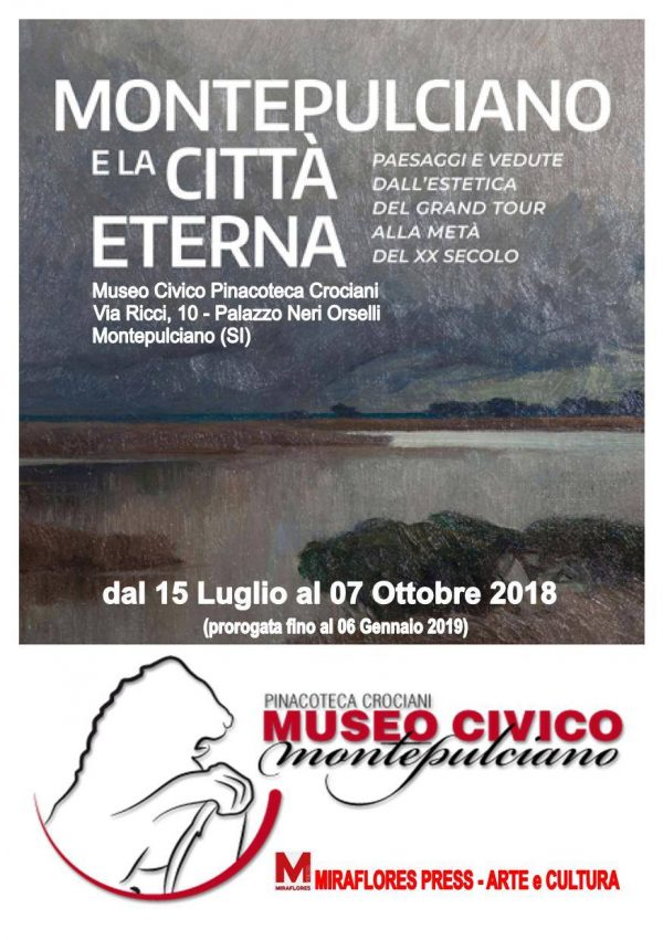 Miraflores Press 107 settembre 2018 mostra Montepulciano e la città eterna gabriele ardemagni