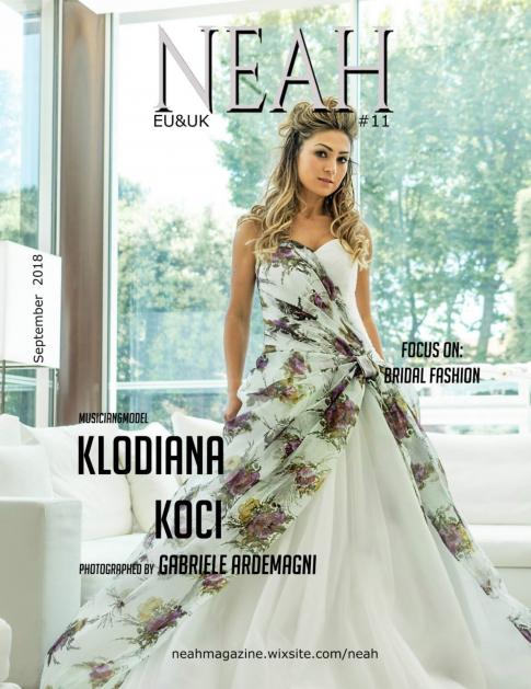Neah Magazine Eu e Uk 11 cover Klodiana