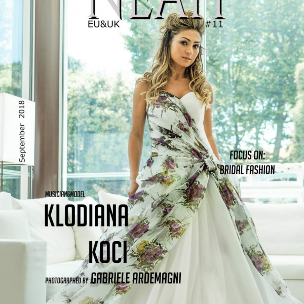 Neah Magazine Eu e Uk 11 cover Klodiana