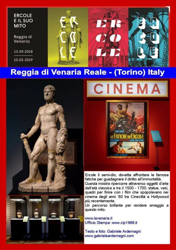 Miraflores Press #108 Ottobre 2018 Testo e foto www.gabrieleardemagni.com Mostra: Ercole il Mito - Reggia Venaria Reale - TO