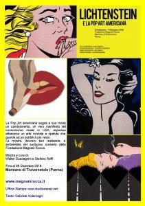 Miraflores Press #108 Ottobre 2018 Testo www.gabrieleardemagni.com Mostra: Roy Lichtenstein e la Pop Art americana Fondazione Magnani-Rocca - Mamiano di Traversetolo - Parma