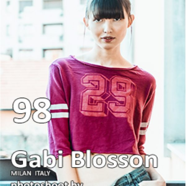 Fashion World Models Magazine Sep. 2018 Photo www.gabrieleardemagni.com Model Gabi Blossom
