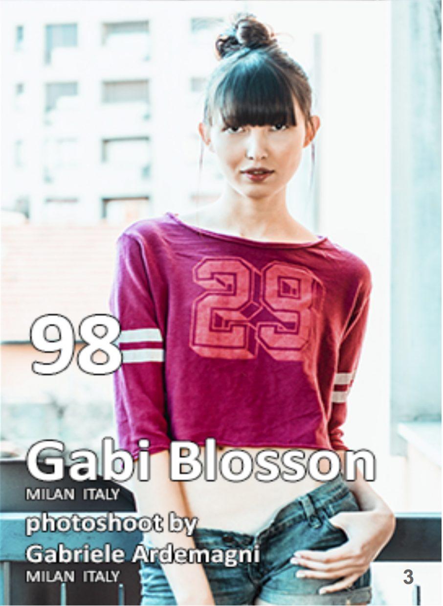 Fashion World Models Magazine Sep. 2018 Photo www.gabrieleardemagni.com Model Gabi Blossom