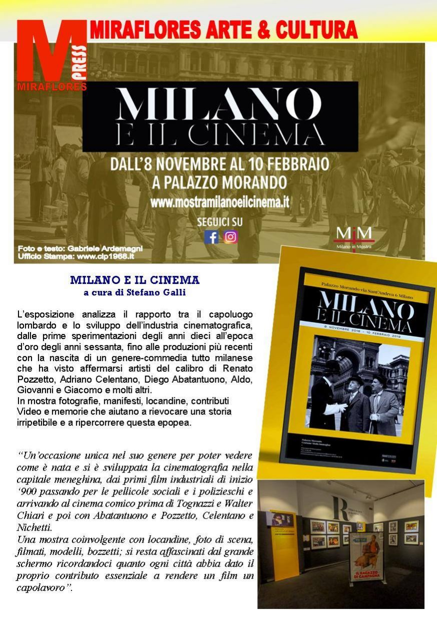Milano e il Cinema Miraflores Press 110 Dicembre 2018
