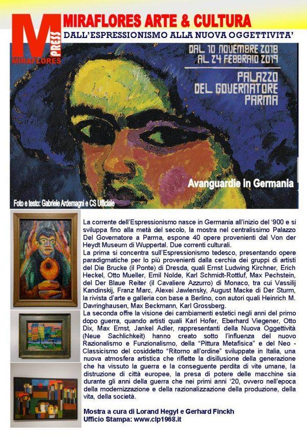 Espressionismo Tedesco Miraflores Press 110 Dicembre 2018