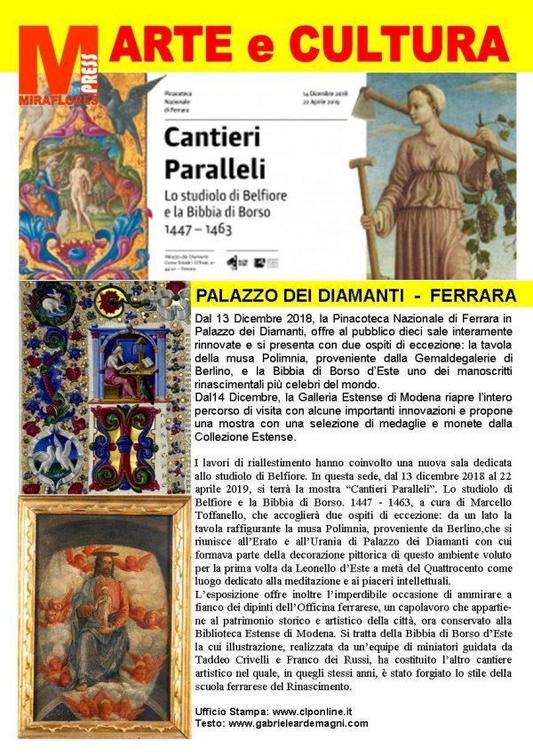 Cantieri Paralleli Miraflores Press 111 Gennaio 2019