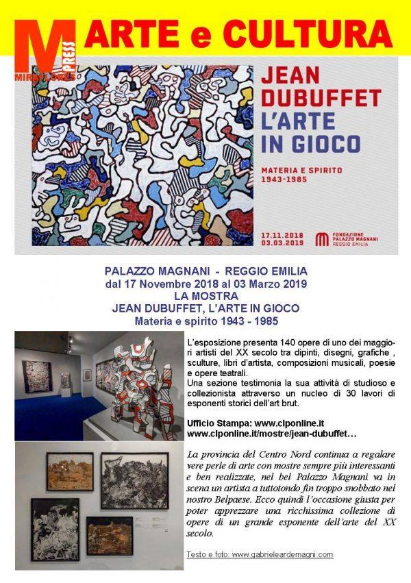 Jean Dubuffet Miraflores Press 111 Gennaio 2019