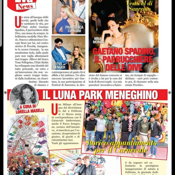 Eva Tremila Febbraio 2019 Luna Park Meneghino