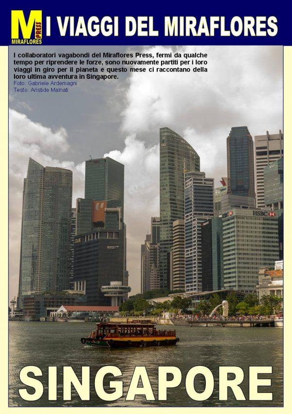 Miraflores Press #112 Febbraio 2019 Singapore