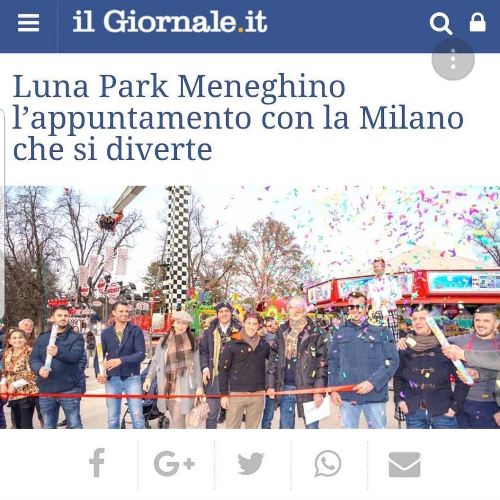 Il Giornale 11 Febbraio 2019 Luna Park Meneghino