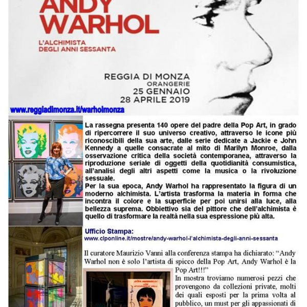 Miraflores Press #113 Marzo 2019 Andy Warhol