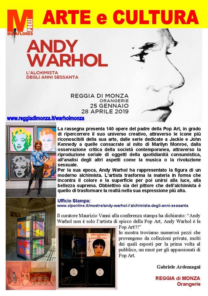 Miraflores Press #113 Marzo 2019 Andy Warhol